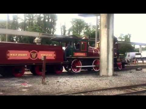 Disney World Railroad Test