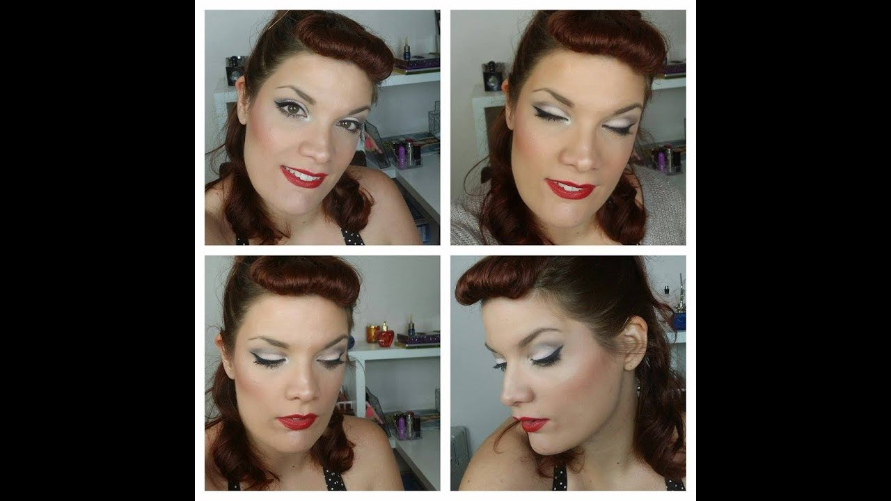 [ Tuto maquillage yeux n°31 ] comment faire un look Rockabilly
