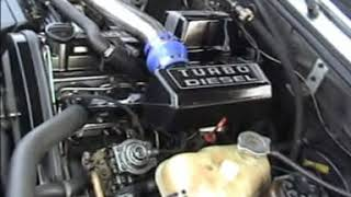 BMW 524td e28 turbo diesel test drive, 40% more power