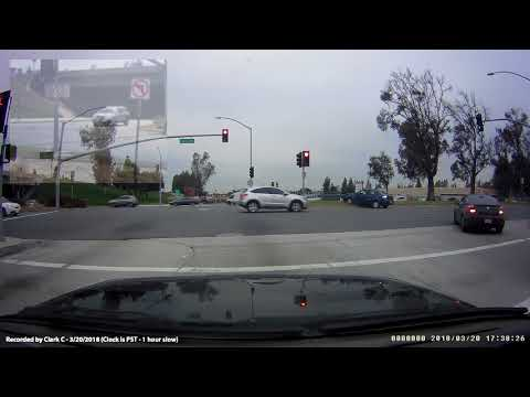 Illegal left turn caused an accident