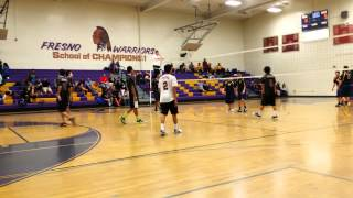 Fresno High Vs SunnySide Boys Volleyball 2014