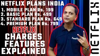 Netflix And Its 4 Plans, Their Charges and Features   FeatFlix