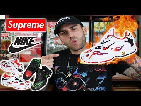 SUPREME X NIKE SS18 COLLAB- THESE ARE FIRE!