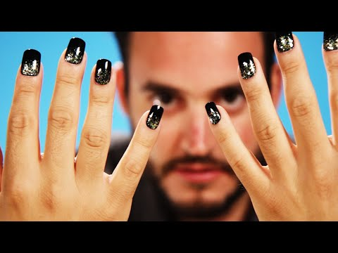 Guys Try Fake Nails