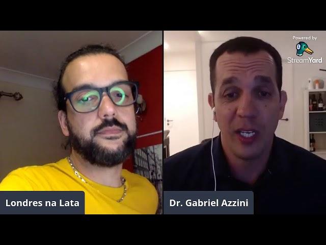 Live com o médico brasileiro em Londres, Dr. Gabriel Azzini