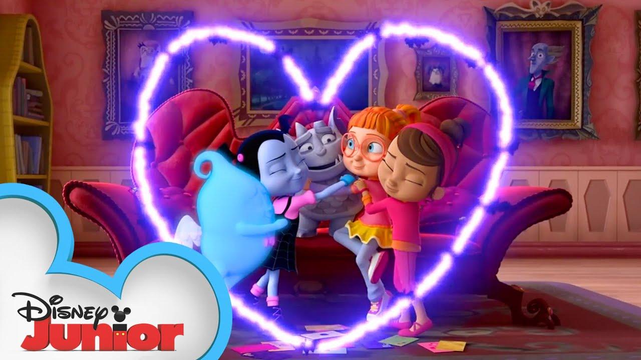 Disney Junior Celebrates Valentine's Day | @Disney Junior