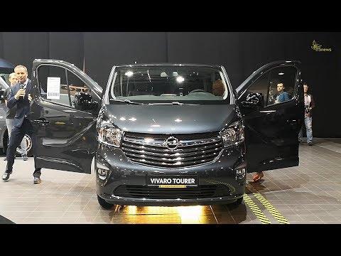 Opel Vivaro Tourer. Premiera. Fleet Market 2017. Samochody użytkowe.