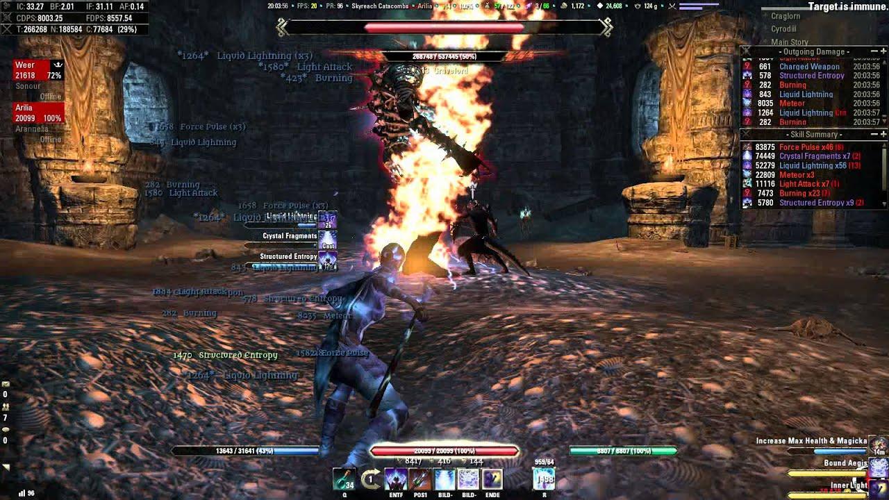 Elder Scrolls Online Sorcerer Pvp Build