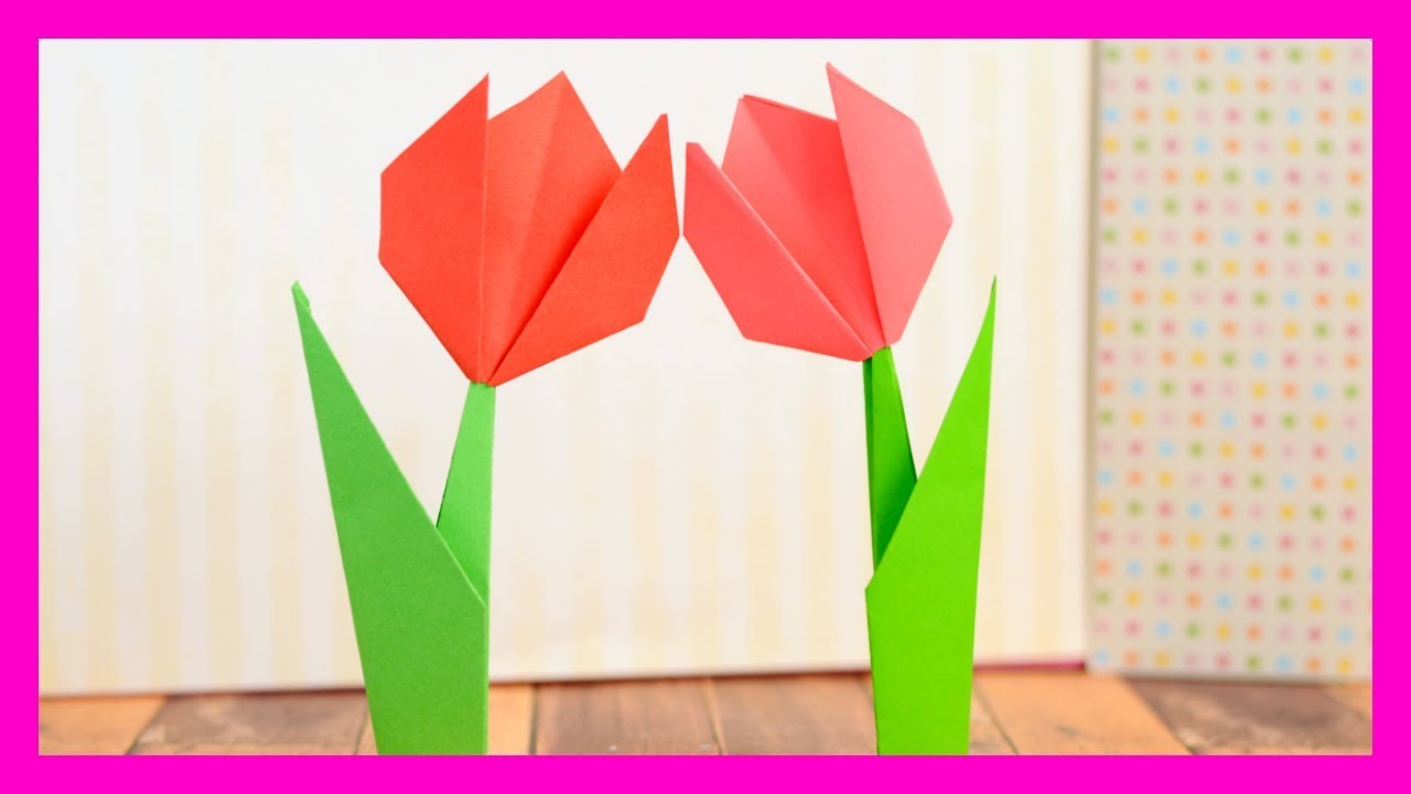 How To Make Origami Flowers Step By Step Tutorial For Origami