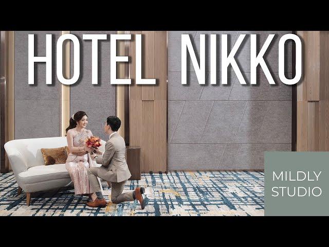 Wedding Cinematography @ Hotel Nikko Bangkok by mildly studio วีดีโองานหมั้น ณ โรงแรมนิกโก้ กรุงเทพ