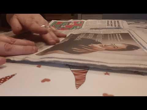 ASMR short...but nice...newspaper