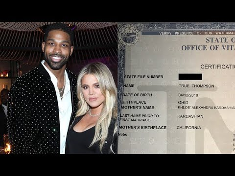 Why Did Khloe Kardashian Drop Baby True's Middle Name On Birth Certificate?!