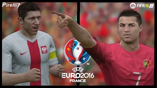 FIFA 16 Remake: Poland vs Portugal - Penalty Shootout (3-5) |EURO 2016| by Pirelli7