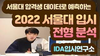 [입시컨설팅] 2022 서울대학교 입시전형 및 서울대 …