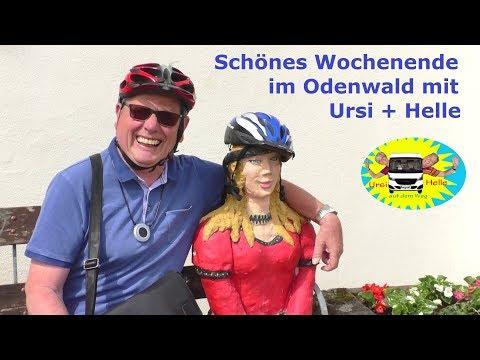 Unterwegs im Odenwald mit unserem Wohnmobil