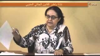 المحاضرة 3 : القانون الجنائي العام - القانون الجنائي المغربي