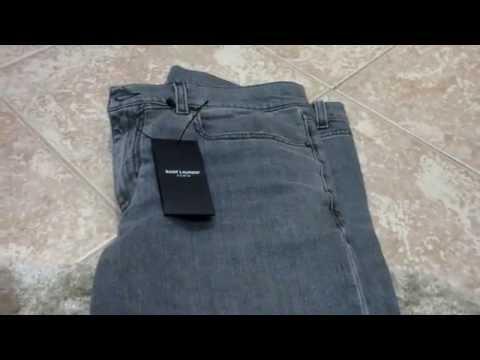 Saint Laurent Paris Skinny Jeans Review