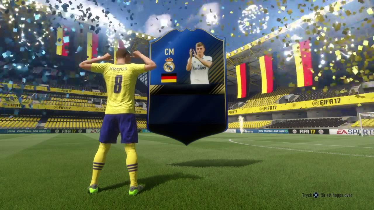 TOTY, Toni Kroos - FIFA 17 - YouTube