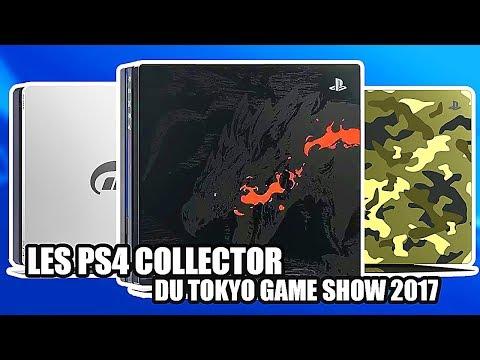 On vous présente toutes les NOUVELLES CONSOLES PS4 Collector !