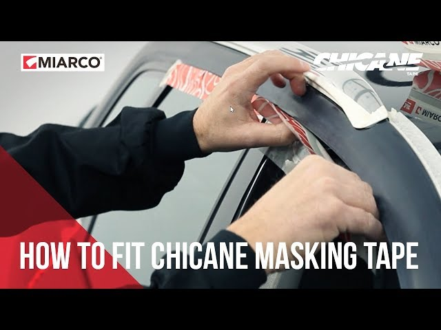 Tutorial: How to fit Chicane masking tape