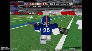 ROBLOX NFL BETA GAMEPLAY | Gg....