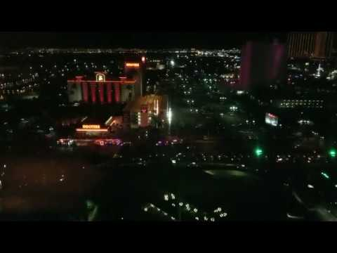 Mandalay Bay Las Vegas Shooting Aftermath perspective from MGM Grand (Hooters)