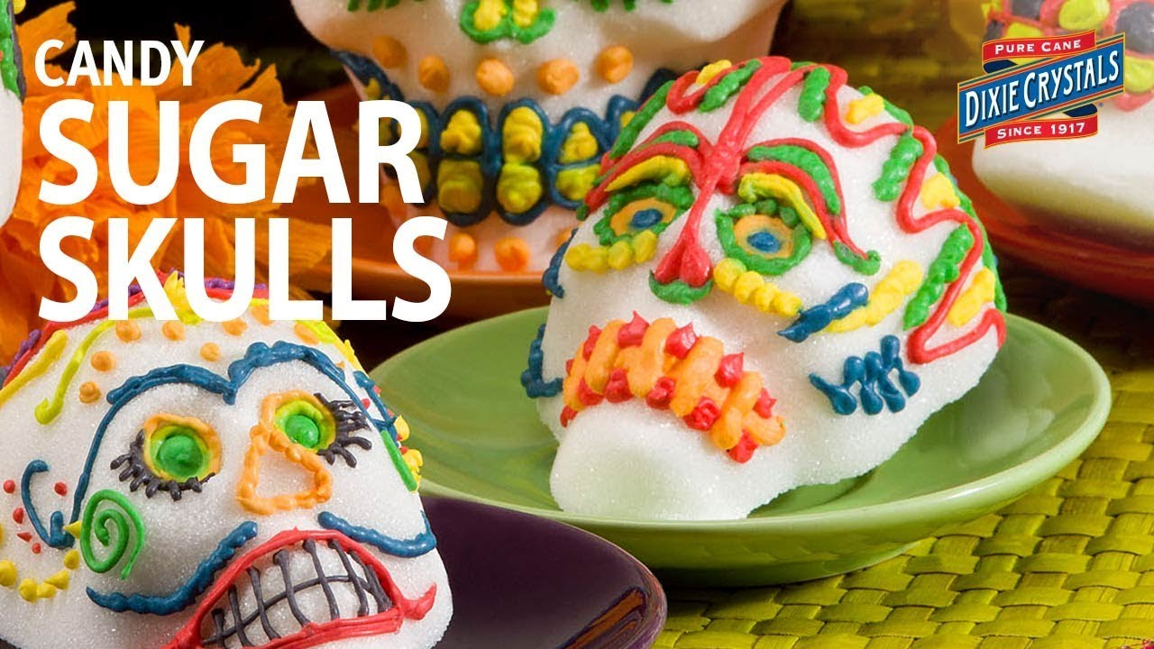 Day of the Dead Candy Sugar Skulls Recipe u0026 Decorating Ideas : sugar skull decoration ideas - www.pureclipart.com