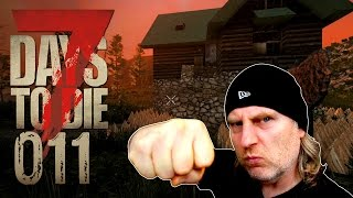 7 Days to Die [011] [Verteidigung weiter ausbauen] Let's Play Gameplay Deutsch German thumbnail