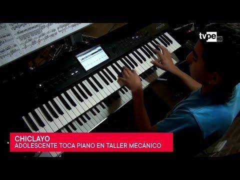 Chiclayo: adolescente sorprende al interpretar música clásica
