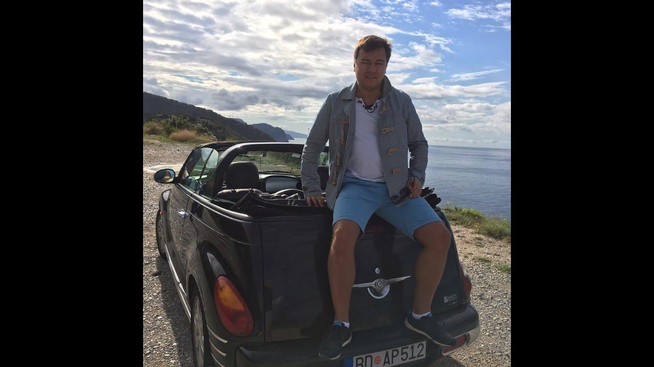 Аренда авто в Черногории. Обзор: Chrysler pt cruiser кабриолет