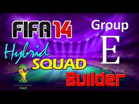 FIFA 14 | World Cup 2014 Hybrid Squad | Group E | France, Ecuador, Switzerland & Honduras