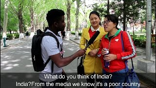 What Chinese think of India and Indians