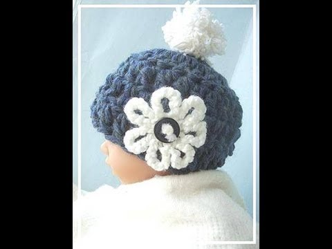 HOW TO CROCHET A 15 MINUTE CHUNKY STYLE BABY HAT - YouTube e6ffb95c2113