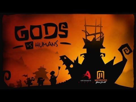 Gods VS Humans - iPad/iPad 2/iPad Mini/New iPad - HD Gameplay Trailer