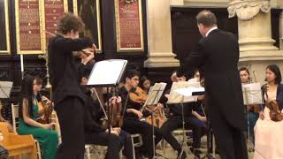 London Young Soloists Astor Piazolla Invierno Porteno Soloist John Gallant