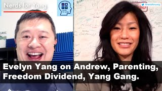 Andrew Yang's wife Evelyn's first podcast interview ever!