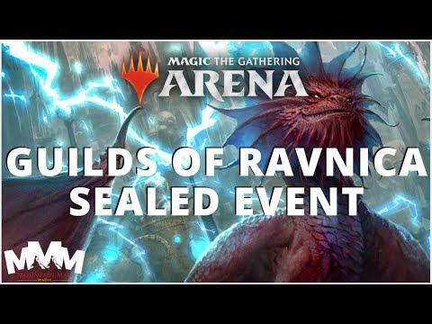 Guilds of Ravnica - Sealed Event - Magic Arena Edition!
