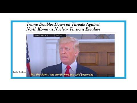 Corée du Nord : Donald Trump persiste et signe