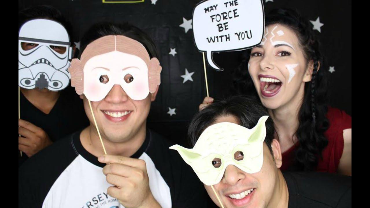 como organizar una fiesta tematica de star wars ideas juegos para fiestas youtube