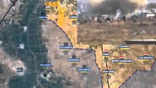 Война в Сирии! Обзор карты боевых действий, новости сегодня 26.10.2015