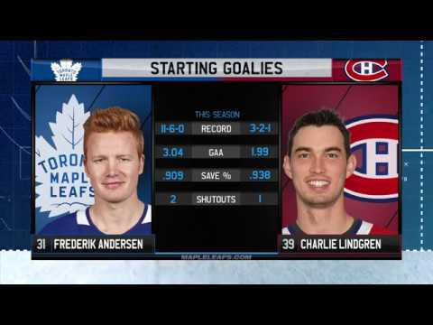 Molson Canadian Game Day: Toronto at Montreal - November 18, 2017