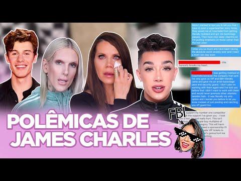 JAMES CHARLES: TRETA COM TATI E JEFFREE STAR POLÊMICA COM HÉTEROS TRANSFOBIA CASO EBOLA Foquinha
