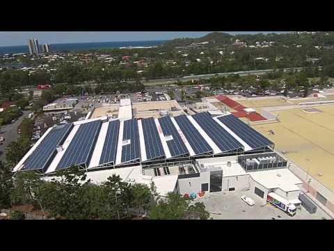 Australia's Largest Solar Carpark at The Pines Elanora
