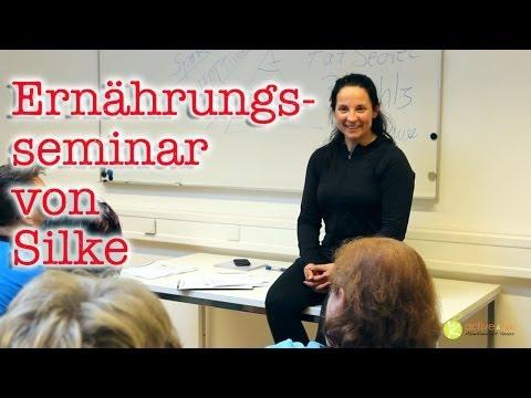 Seminar von Silke über Ernährung und Abnehmen