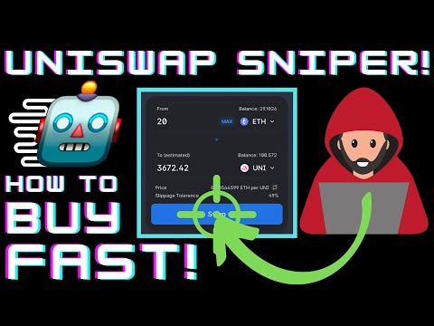 how-to-snipe-on-uniswap!-how-to-purchase-new-uniswap-listings-quickly