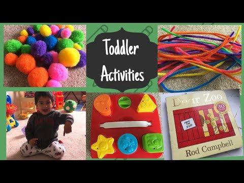 DIY Activities - 1-2 years old II Fun activities II Toddler Activities II HappyHomeHappyLife
