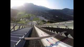 Olympia Skisprungschanze in Garmisch Partenkirchen   (GoPro)