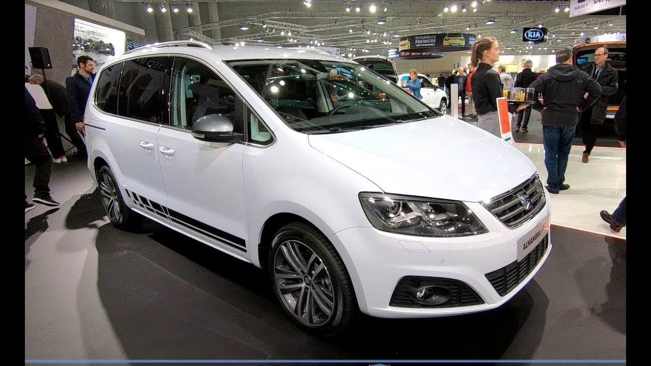 seat alhambra fr line 4drive new model white silver colour walkaround interior