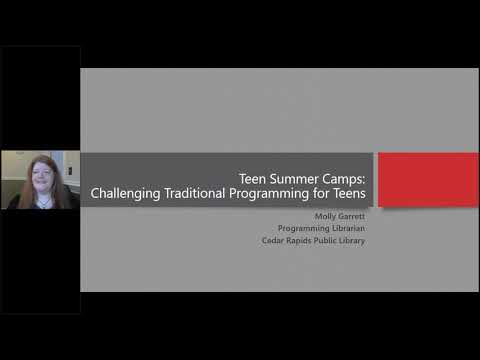 NCompass Live:Teen Summer Camps: Challenging Traditional Programming for Teens from YouTube · Duration:  1 hour 10 minutes 22 seconds