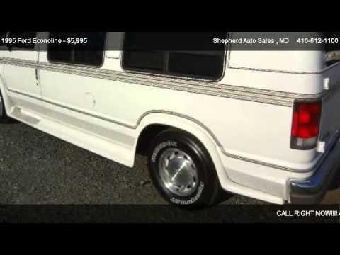 1995 Ford Econoline E150 Conversion Van